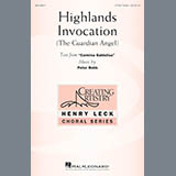 Download Peter Robb Highlands Invocation Sheet Music arranged for 4-Part - printable PDF music score including 10 page(s)