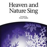 Download Philip Kern Heaven And Nature Sing Sheet Music arranged for SATB - printable PDF music score including 10 page(s)