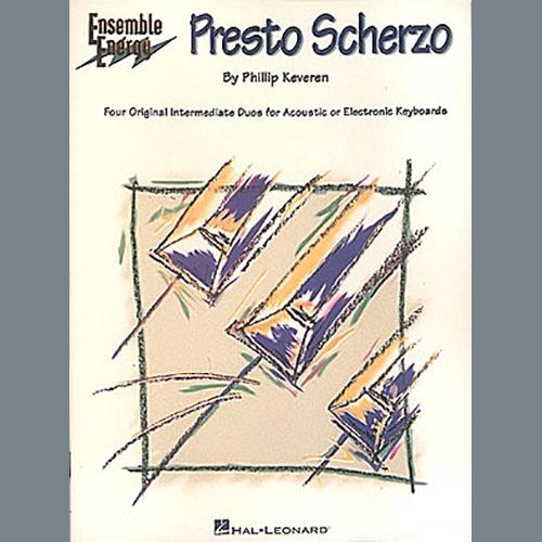 Phillip Keveren Alpine Snowfall (from Presto Scherzo) (for 2 pianos) profile picture