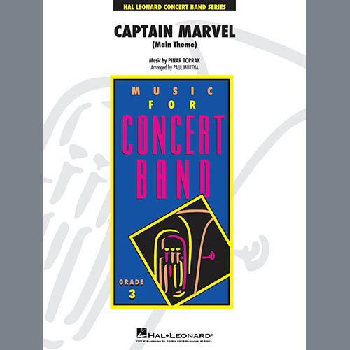 Pinar Toprak Captain Marvel (Main Theme) (arr. Paul Murtha) - Bb Clarinet 2 profile picture