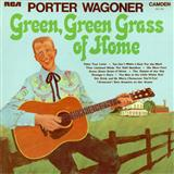 Download or print Green Green Grass Of Home Sheet Music Notes by Porter Wagoner for Piano