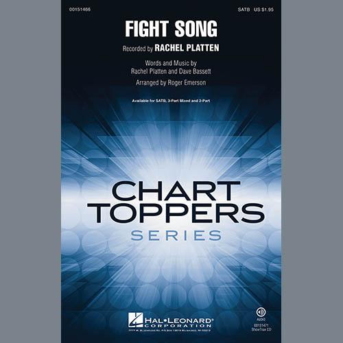 Rachel Platten Fight Song (arr. Roger Emerson) - Bass profile picture