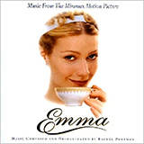 Download or print The Wedding/End Titles (from Emma) Sheet Music Notes by Rachel Portman for Piano