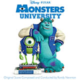 Download or print Main Title (Monsters University) Sheet Music Notes by Randy Newman for Piano