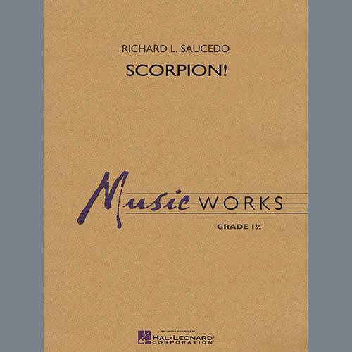 Richard L. Saucedo Scorpion! - Conductor Score (Full Score) pictures