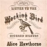 Download or print Listen To The Mocking Bird Sheet Music Notes by Richard Milburn for Xylophone Solo