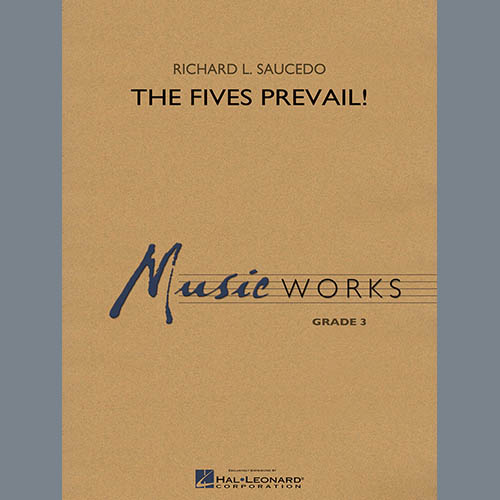 Richard Saucedo The Fives Prevail! - Percussion 6 pictures