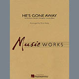 Download Rick Kirby He's Gone Away (An American Folktune Setting for Concert Band) - Eb Baritone Saxophone Sheet Music arranged for Concert Band - printable PDF music score including 1 page(s)