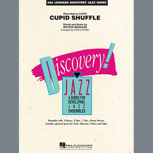 Rick Stitzel Cupid Shuffle - Piano pictures
