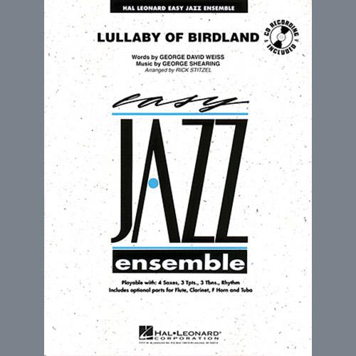 Rick Stitzel Lullaby Of Birdland - Bb Clarinet 1 profile picture