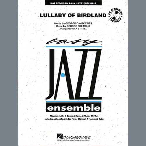 Rick Stitzel Lullaby Of Birdland - Trumpet 2 profile picture