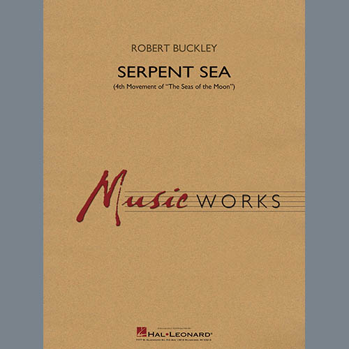 Robert Buckley Serpent Sea - Conductor Score (Full Score) profile picture
