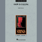 Download or print Snow Is Falling - Violin 1 Sheet Music Notes by Robert Buckley for Orchestra