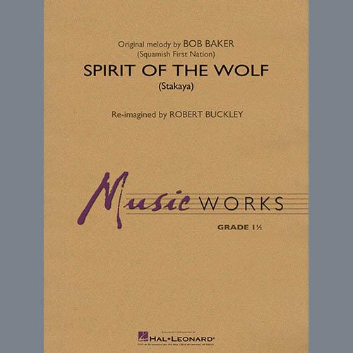 Robert Buckley Spirit of the Wolf (Stakaya) - Conductor Score (Full Score) profile picture