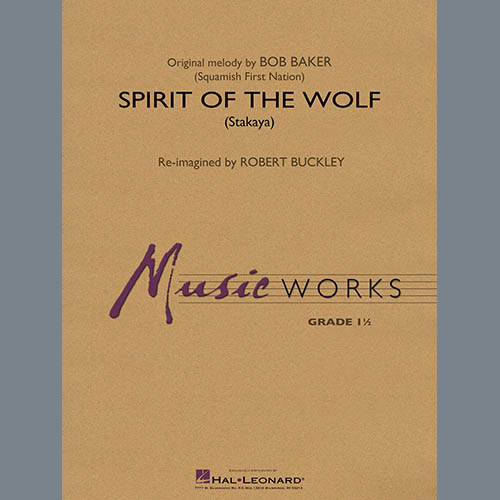 Robert Buckley Spirit of the Wolf (Stakaya) - Percussion 1 profile picture