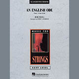 Download or print An English Ode (Come, Ye Sons of Art) - String Bass Sheet Music Notes by Robert Longfield for Orchestra