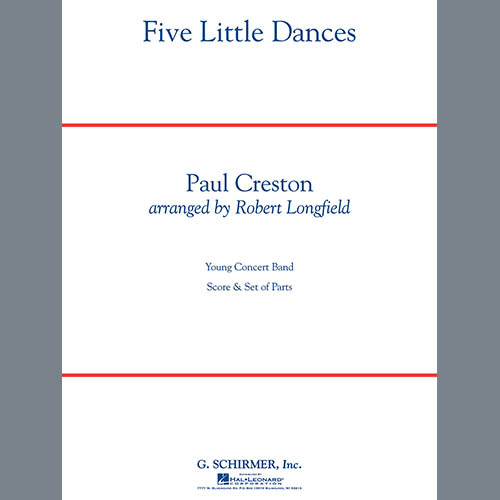 Robert Longfield Five Little Dances - Bb Trumpet 2 pictures