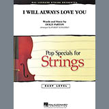 Download Robert Longfield I Will Always Love You - Violin 1 Sheet Music arranged for String Quartet - printable PDF music score including 1 page(s)