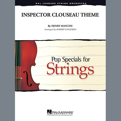 Robert Longfield Inspector Clouseau Theme (from The Pink Panther Strikes Again) - Violin 1 profile picture