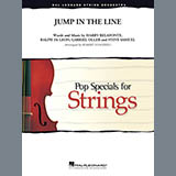Download or print Jump in the Line - Violin 3 (Viola Treble Clef) Sheet Music Notes by Robert Longfield for Orchestra