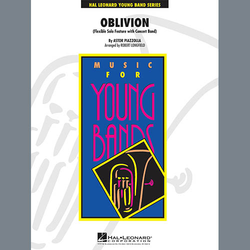 Robert Longfield Oblivion - Conductor Score (Full Score) pictures
