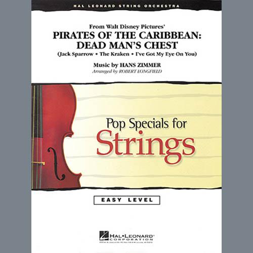 Robert Longfield Pirates of the Caribbean: Dead Man's Chest - Violin 3 (Viola Treble Clef) profile picture
