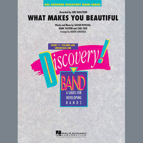 Robert Longfield What Makes You Beautiful - Baritone T.C. pictures