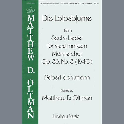 Robert Schumann Die Lotosblume (Ed. Matthew D. Oltman) profile picture