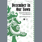 Download Roger Emerson December In Our Town Sheet Music arranged for 3-Part Treble - printable PDF music score including 7 page(s)