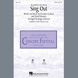 Download Roger Emerson Sing Out Sheet Music arranged for SAB Choir - printable PDF music score including 10 page(s)
