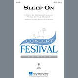Download Paul Mealor Sleep On (arr. Roger Emerson) Sheet Music arranged for SSA - printable PDF music score including 7 page(s)
