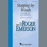 Download Roger Emerson Stopping By Woods Sheet Music arranged for SAB Choir - printable PDF music score including 15 page(s)