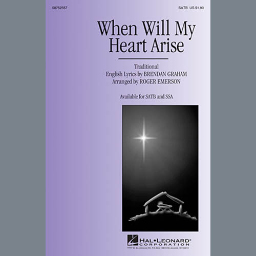 Traditional When Will My Heart Arise (arr. Roger Emerson) profile picture