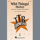 Download Roger Emerson Wild Things! (Medley) Sheet Music arranged for TBB Choir - printable PDF music score including 11 page(s)