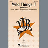 Download Roger Emerson Wild Things II (Medley) Sheet Music arranged for TBB Choir - printable PDF music score including 15 page(s)