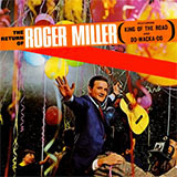 Download Roger Miller King Of The Road Sheet Music arranged for Trombone - printable PDF music score including 1 page(s)