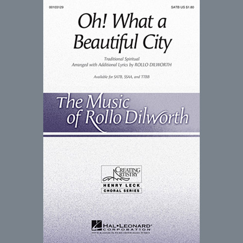 Rollo Dilworth Oh, What A Beautiful City profile picture