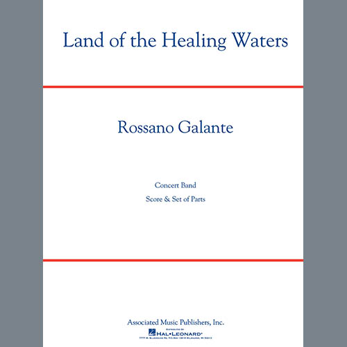 Rossano Galante Land of the Healing Waters - Eb Alto Saxophone 1 profile picture