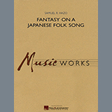 Download Samuel R. Hazo Fantasy On A Japanese Folk Song - Eb Contra Alto Clarinet Sheet Music arranged for Concert Band - printable PDF music score including 1 page(s)