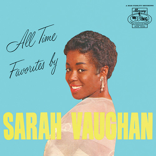 Sarah Vaughan My Funny Valentine profile picture