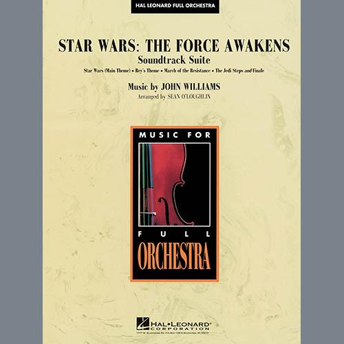 Sean O'Loughlin Star Wars: The Force Awakens Soundtrack Suite - Conductor Score (Full Score) profile picture