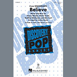 Download Shawn Mendes Believe (arr. Audrey Snyder) Sheet Music arranged for SATB - printable PDF music score including 13 page(s)