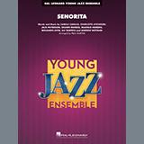 Download Shawn Mendes & Camila Cabello Senorita (arr. Paul Murtha) - Tenor Sax 1 Sheet Music arranged for Jazz Ensemble - printable PDF music score including 2 page(s)