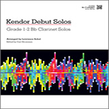 Download Sobol Kendor Debut Solos - Bb Clarinet Sheet Music arranged for Woodwind Solo - printable PDF music score including 15 page(s)