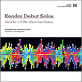 Download Sobol Kendor Debut Solos - Bb Clarinet - Piano Accompaniment Sheet Music arranged for Woodwind Solo - printable PDF music score including 37 page(s)
