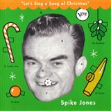 Download or print All I Want For Christmas Is My Two Front Teeth Sheet Music Notes by Spike Jones and his City Slickers for Piano