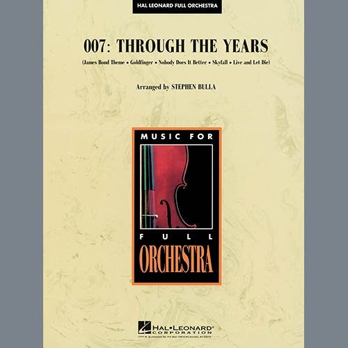 Stephen Bulla 007: Through The Years - Violin 2 profile picture