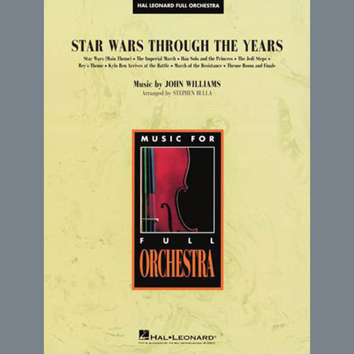 Stephen Bulla Star Wars Through the Years - Conductor Score (Full Score) profile picture