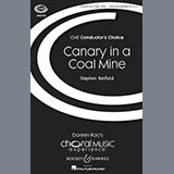 Download or print Canary In A Coal Mine Sheet Music Notes by Stephen Hatfield for SSA, SATB