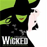 Download or print Defying Gravity (from the Broadway Musical Wicked) Sheet Music Notes by Stephen Schwartz for Piano